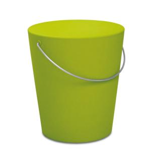 Sgabello MOVINGSTOOL Ø35,5xh39 cm - Verde Acido Opaco