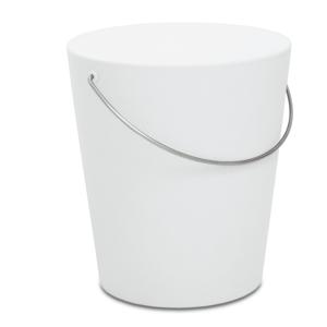 Sgabello MOVINGSTOOL Ø35,5xh39 cm - Bianco