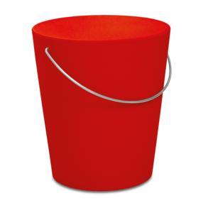 Sgabello MOVINGSTOOL Ø35,5xh39 cm -Rosso