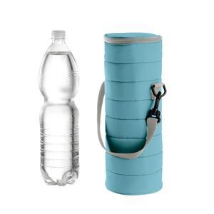 Portabottiglie Termico universale Handy 12xh37 cm BPA FREE colore Azzurro mat