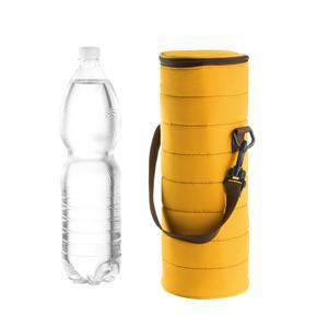 Portabottiglie Termico universale Handy 12xh37 cm BPA FREE colore giallo