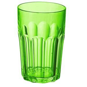 Bicchieri da Bibita Molati Alti Tall Tumbler Ø8xh12,5 cm - 420 cc in SAN confezione 6 pezzi Verde Acido