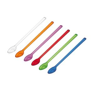Cucchiaini Cocktail Guzzini 6 pezzi in Pura plastica vergine ad alto spessore 6 Colori