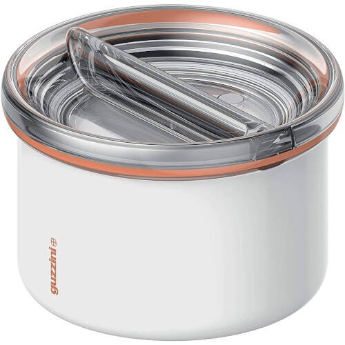 Energy On The Go Lunch Box Termico, Poliestere Copolimero, Polipropilene, Stainless Steel, Bianco, 13.7 cm