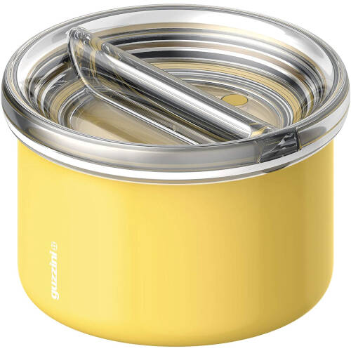 Energy On The Go Lunch Box Termico, Poliestere Copolimero, Polipropilene, Stainless Steel, Giallo ocra, 13.7 cm