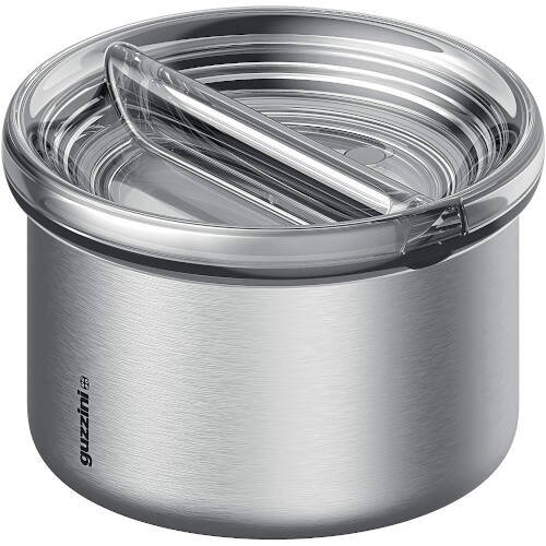 Energy On The Go Lunch Box Termico, Poliestere Copolimero, Polipropilene, Stainless Steel, Argento, 13.7 cm