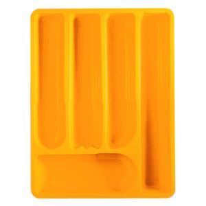 Portaposate da cassetto Latina 39.5x30xh5.5 cm Design: Giugiaro Arancio