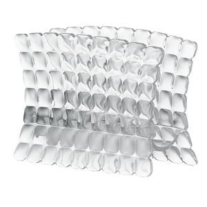 Portatovaglioli in materiale acrilico 15,2x7,6xh11 cm trasparente