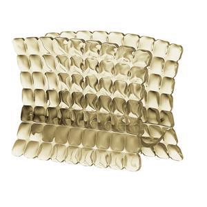 Portatovaglioli in materiale acrilico 15,2x7,6xh11 cm sabbia