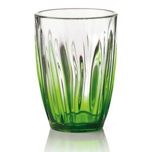 Bicchiere da Bibita IRIS Ø9.3xh12.5 cm - 460cc pezzi Colore Verde Acido Confezione 6 Pezzi