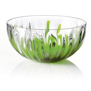 Ciotolina Bicolore Media Ø15xh8 cm - 500cc IRIS Verde Acido