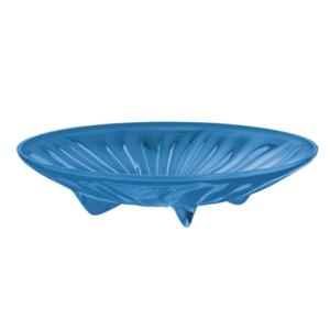 Centrotavola piccolo S diametro 26xh5.8 cm AQUA Blu Mediterraneo