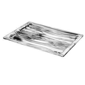 Vassoio rettangolare 32x23xh 2.8 cm cm Look M in plastica