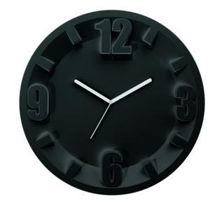 Orologio Guzzini 3-6-9-12 diametro 30 Nero