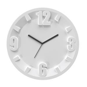 Orologio Guzzini 3-6-9-12 diametro 30x3,5 Grigio Opaco