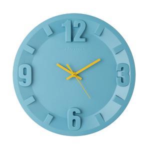 Orologio Guzzini in SAN 3-6-9-12 diametro 30xh3,5 colore celeste