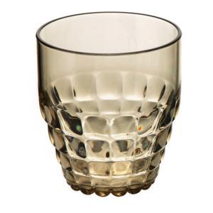 Bicchieri Bassi TIFFANY diametro 8.5xh9.5 cm - 350 cc confezione da 6 pezzi Sabbia