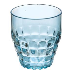 Bicchieri Bassi TIFFANY diametro 8.5xh9.5 cm - 350 cc confezione da 6 pezzi Azzurro mare