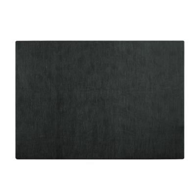 TOVAGLIETTA DOUBLE FACE NATURE 45x30 in PU materiale rigido con texture colore colore nero