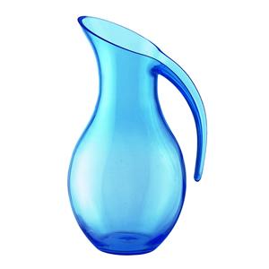 Caraffa Soffiata diametro 13.5x17xh26 cm - 1600cc Happy Hour Blu Mediterraneo