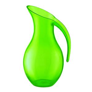 Caraffa Soffiata diametro 13.5x17xh26 cm - 1600cc Happy Hour Verde Trasparente