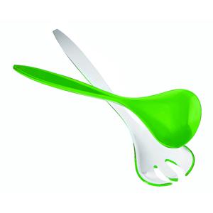 Cucchiai per insalata Bicolore Verde Acido Opaco