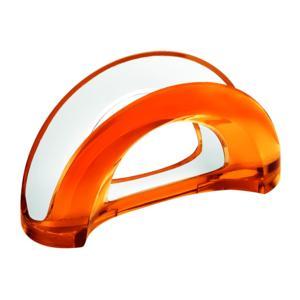 Portatovaglioli bicolore 18.5x7.5xh10 cm Vintage Arancio