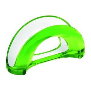 Portatovaglioli bicolore 18.5x7.5xh10 cm Vintage verde