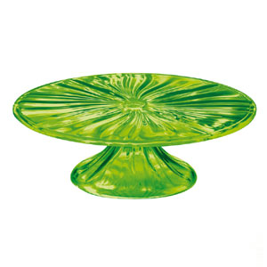 Alzata Grande diametro 33xh11 AQUA Verde Acido Opaco
