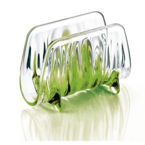 Portatovaglioli IRIS 16x8xh11 cm in materiale plastico Verde Acido
