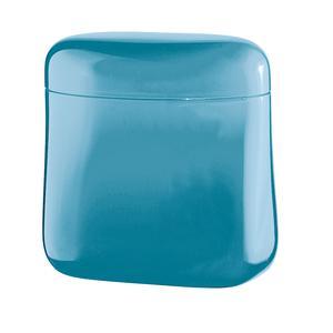 Barattolo da Caffe' 250 gr 14x8,5xh14,5 cm 700 cc tappo chiusura ermetica Azzurro Mare