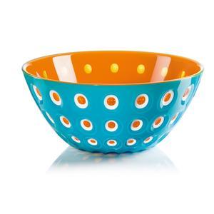 Ciotole contenitore 25xh 11,00 cm - 2700 cc Le Murrine azzurro/bianco/arancio