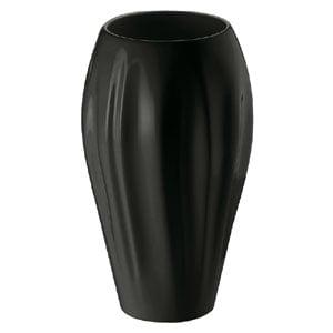 Vaso in porcellanaLipari h25cm colore nero