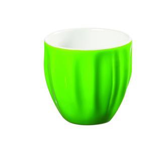 Tazza da caffè in Gres porcellanato Ø6,4xh6cm - 110cc Verde
