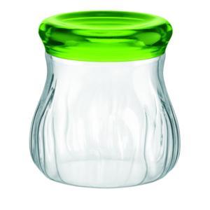 Barattolo Soffiato In Plastica Piccolo Ø13xh13 cm - 750cc AQUA Verde Acido