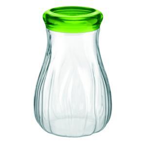Barattolo In Plastica Soffiato Grande Ø15xh20 cm - 1600cc AQUA Verde Acido