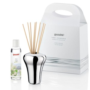 Vaso argento diffusore e fragranza