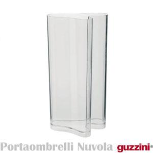 Portaombrelli Vaso Darredo 32x24.7xh60 cm Nuvola in metacrilato trasparente