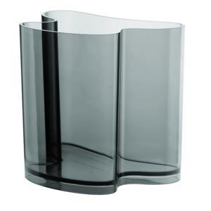 Portariviste Vaso D'Arredo ISOLA 32x22.8xh31 cm in metacrilato trasparente Grigio