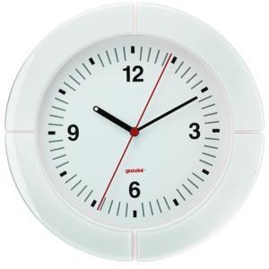 Orologio da Parete diametro 37xh4.9 cm I-Clock Bianco