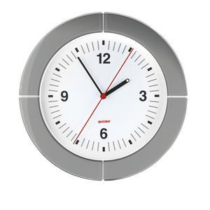 Orologio da Parete diametro 37xh4.9 cm I-Clock Grigio Cielo