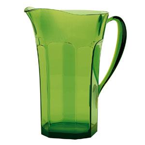 Caraffa Belle Epoque 21x14xh23.5cm 1700 cc Verde muschio