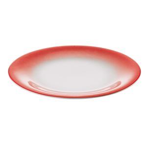 Servizio Piatti Frutta 6 Pezzi tavola Grace Rosso da Lavastoviglie decoro Sottosmalto
