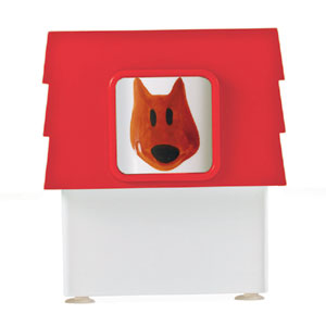 Mug Dog Pet Family rosso