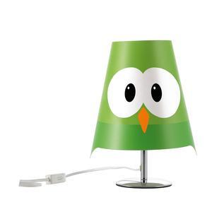 Lampada da tavolo LUCIGNOLO 20xh30 cm colore verde