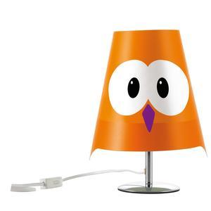Lampada da tavolo LUCIGNOLO 20xh30 cm colore arancio