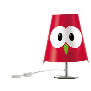 Lampada da tavolo LUCIGNOLO 20xh30 cm colore rosso
