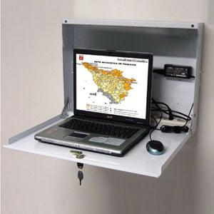 Cassetta di sicurezza PC e Notebook studiata per L'utilizzo a parete per PC LIM MONITOR