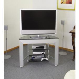 Porta Tv Lcd Vetro.Porta Tv Gamma 84 In Alluminio Anodizzato Dimensioni 84x36xh57 Cm