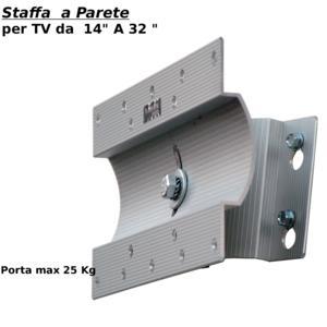 Staffa a soffitto per schermi TV da 26 a 50 pollici Con ...